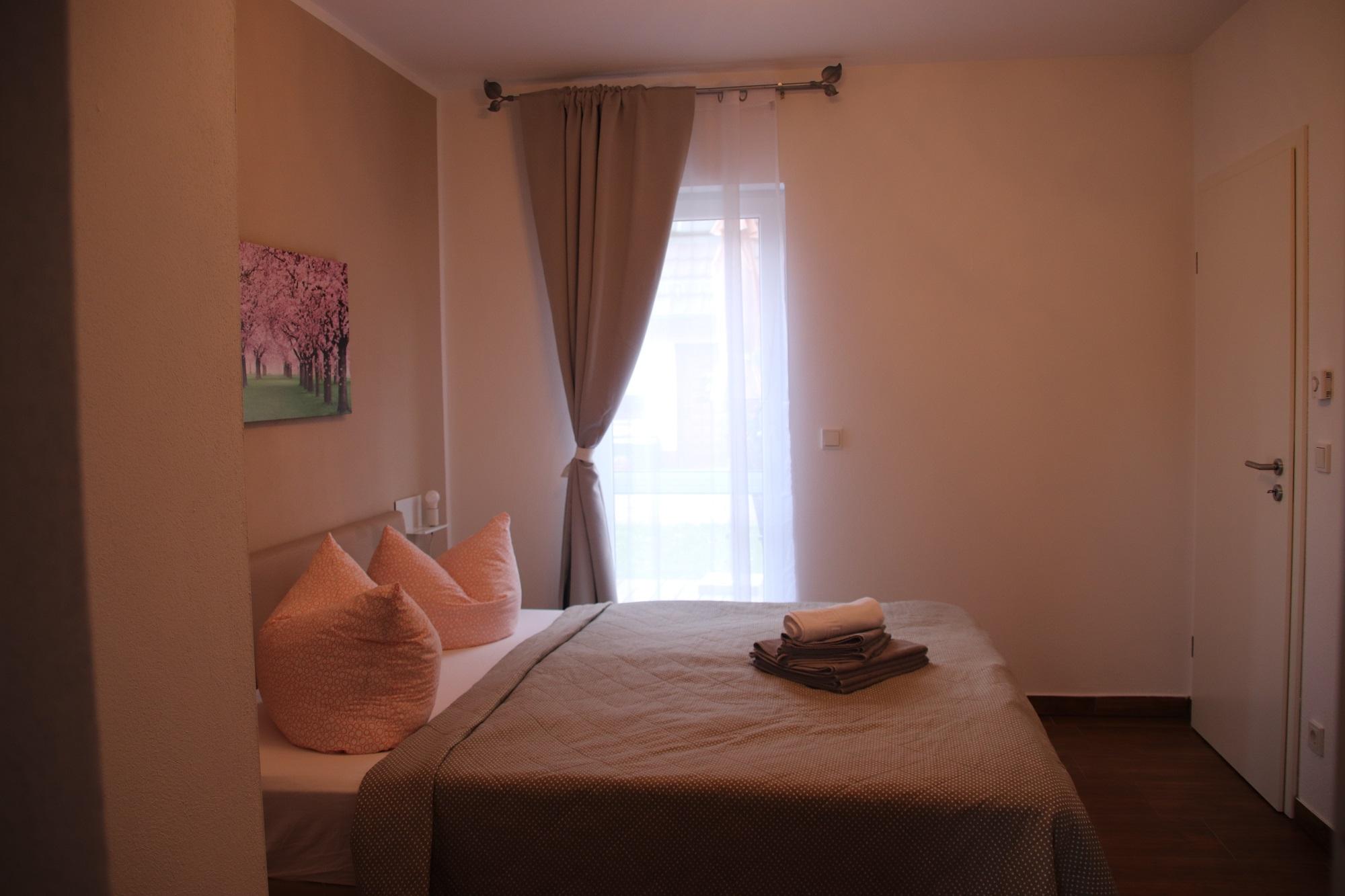 Appartement- Schlafzimmer
